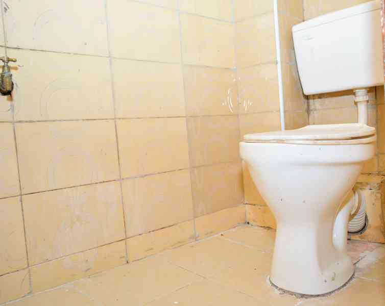 Toilet view.